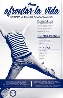 "Jornada de salud mental ""Afrontar la vida"" en Centro Cultural César Brañas, La Antigua Guatemala 2011"