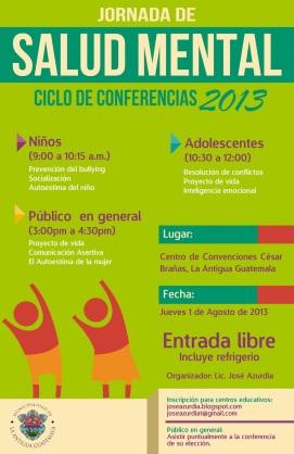 Ciclo de conferencias, La Antigua Guatemala 2013