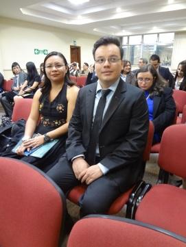 Ceremonia de juramentación, Colegio de Psicólogos de Guatemala
