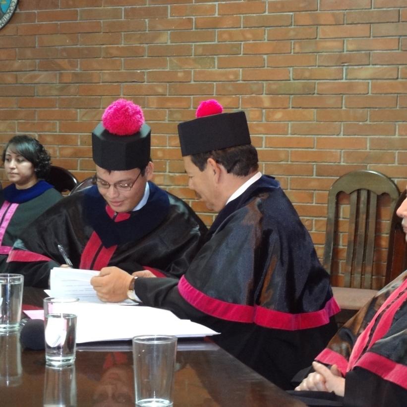 Firma del Acta de Graduación como Licenciado en Psicología de la Escuela de Ciencias Psicológicas de la Universidad de San Carlos de Guatemala.