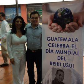 Celebración del Día Mundial del Reiki, Inguat Guatemala 2012