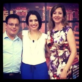 """En el programa """"Un show con Tuti"""" por Guatevisión"""